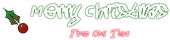 Font Five Cent Christmas Symbol Logo Preview