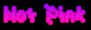 Hot Pink Logo Style