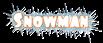 Font Foo Snowman Logo Preview