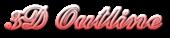 Font Ford script 3D Outline Gradient Logo Preview