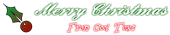 Font Ford script Christmas Symbol Logo Preview