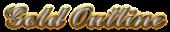 Font Ford script Gold Outline Logo Preview