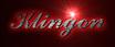 Font Ford script Klingon Logo Preview