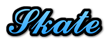Font Ford script Skate Logo Preview
