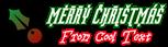 Font ForeignSheetMetal Christmas Symbol Logo Preview