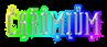 Font ForeignSheetMetal Chromium Logo Preview