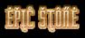 Font ForeignSheetMetal Epic Stone Logo Preview