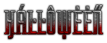 Font ForeignSheetMetal Halloween Logo Preview