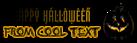 Font ForeignSheetMetal Halloween Symbol Logo Preview