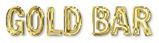 Font Francois One Gold Bar Logo Preview