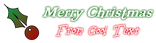 Font Freebooter Christmas Symbol Logo Preview