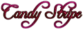Font Freebooter Script Candy Stripe Logo Preview