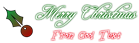 Font Freebooter Script Christmas Symbol Logo Preview