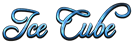 Font Freebooter Script Ice Cube Logo Preview