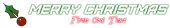 Font Furore Christmas Symbol Logo Preview