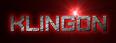 Font Furore Klingon Logo Preview