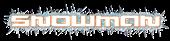 Font Fusion Snowman Logo Preview