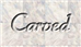 Font Gabrielle Carved Logo Preview
