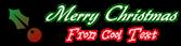 Font Gabrielle Christmas Symbol Logo Preview