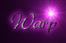 Font Gabrielle Warp Logo Preview