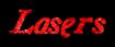 Font Galathea Lasers Logo Preview