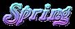 Font Galathea Spring Logo Preview