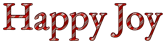 Font Garamond Happy Joy Logo Preview