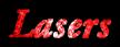 Font Garamond Lasers Logo Preview