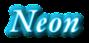Font Garamond Neon Logo Preview