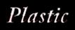 Font Garamond Plastic Logo Preview
