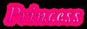Font Garamond Princess Logo Preview