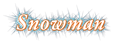Font Garamond Snowman Logo Preview