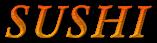 Font Garamond Sushi Logo Preview