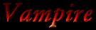 Font Garamond Vampire Logo Preview
