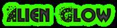 Font Glitter Font Alien Glow Logo Preview