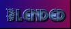 Font Glitter Font Blended Logo Preview