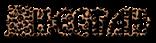 Font Glitter Font Cheetah Logo Preview