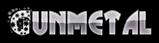 Font Glitter Font Gunmetal Logo Preview