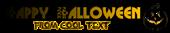 Font Glitter Font Halloween Symbol Logo Preview