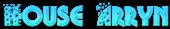 Font Glitter Font House Arryn Logo Preview