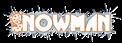 Font Glitter Font Snowman Logo Preview