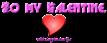 Font Glitter Font Valentine Symbol Logo Preview