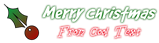 Font GoodDog Christmas Symbol Logo Preview