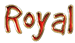 Font GoodDog Royal Logo Preview