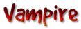 Font GoodDog Vampire Logo Preview