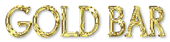Font Goodfish Gold Bar Logo Preview