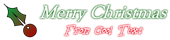 Font Goudy Old Style Christmas Symbol Logo Preview