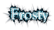 Font Goudy Old Style Frosty Logo Preview