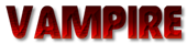 Font Governor Vampire Logo Preview