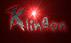 Font Grunge Klingon Logo Preview